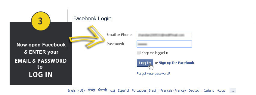 Facebook Upload Step3