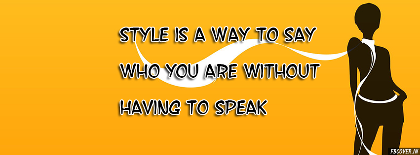 style is a way to say who you are style covers