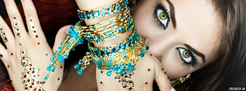 indian makeup facebook covers