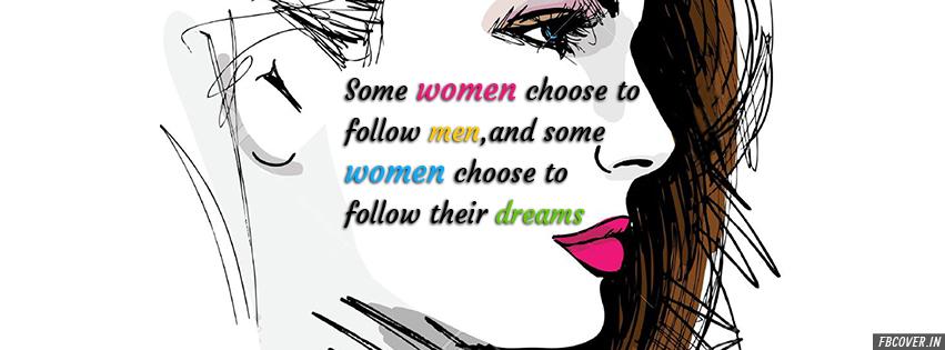 women follow their dreams