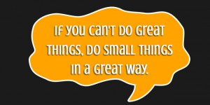 if you can do great things