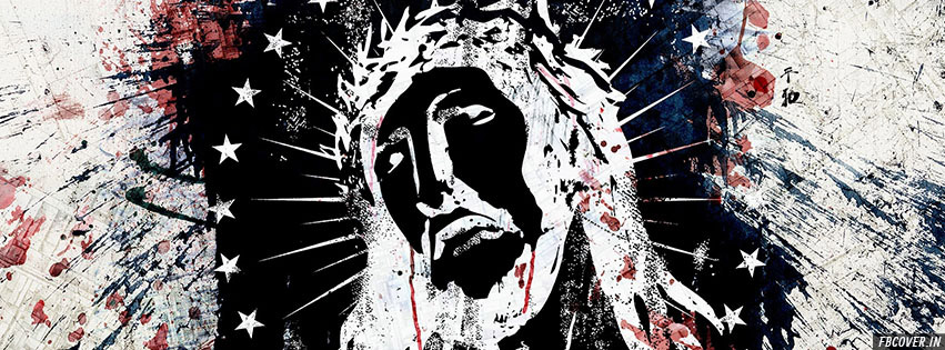 jesus christ abstract cover photos