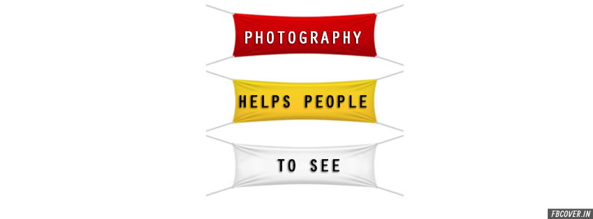 photography helps people to see fb covers
