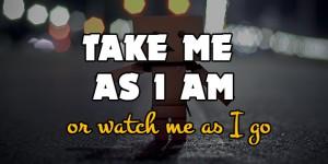 take me as i am fb cover photos