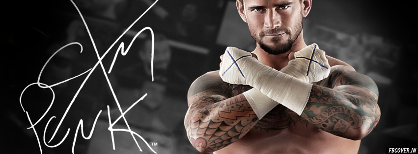 wwe cm punk fb covers