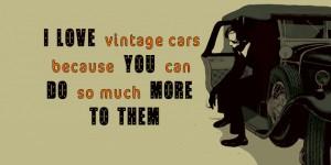 vintage cars cover design
