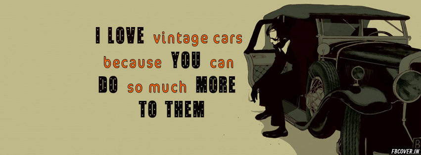 vintage cars cover design