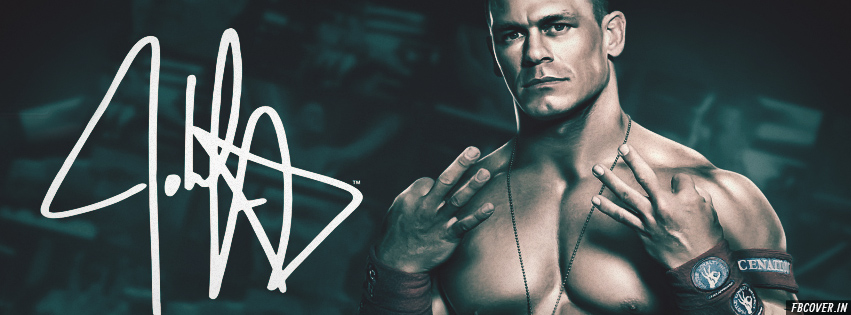 john cena wwe fb covers