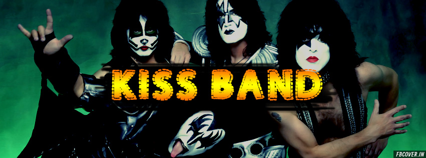 kiss band timeline cover photos