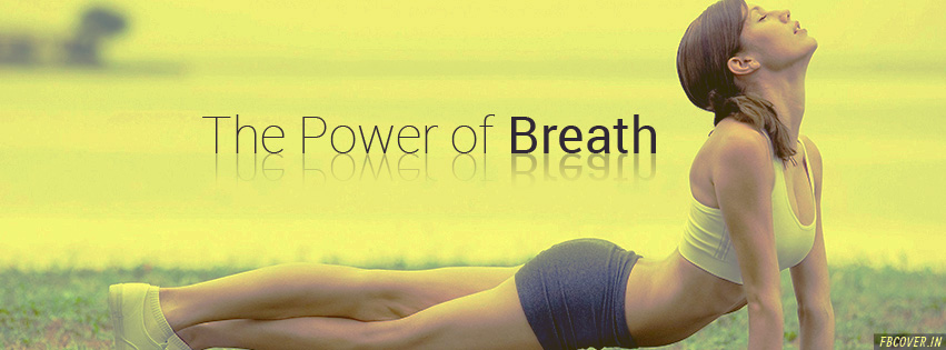 the power of breathing facebook covers