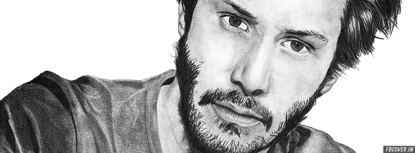 keanu reeves sketch fb covers photos