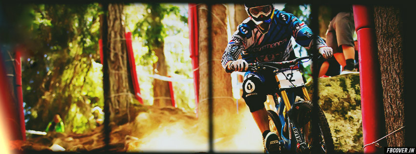 mountain biking fb covers