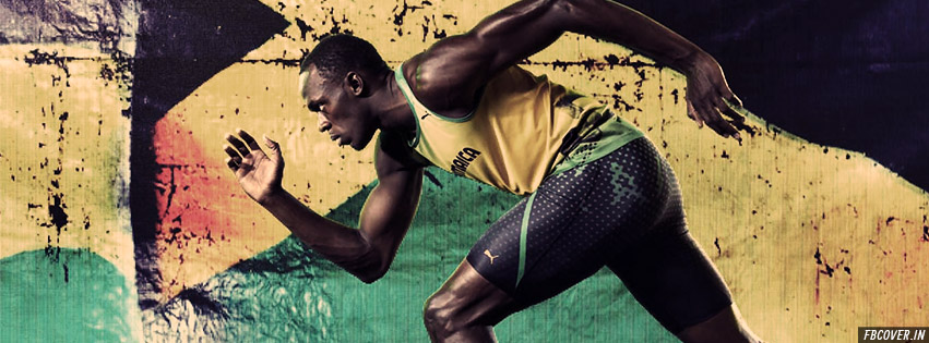 usain bolt fb covers photos
