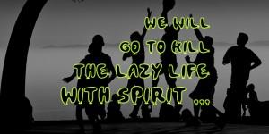 kill the lazy life fb cover photos