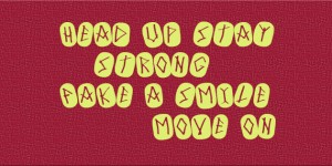 head up stay strong facebook covers