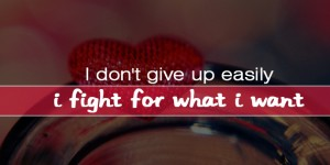 i don't give up easily fb covers photos
