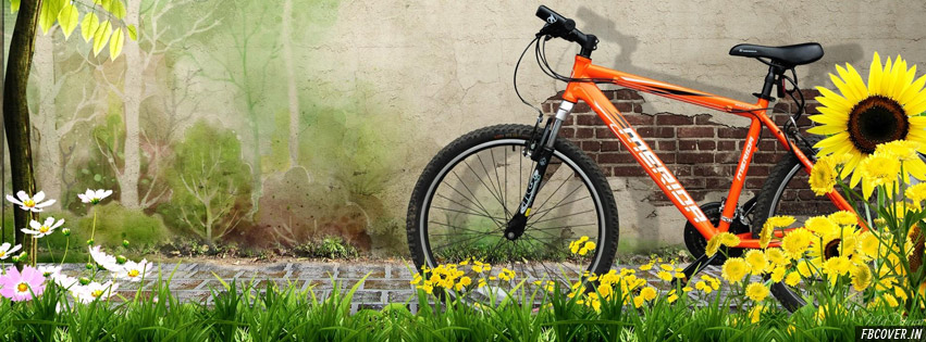 spring bike ride fb cover photos