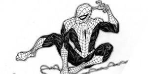 spider man sketch fb covers photos