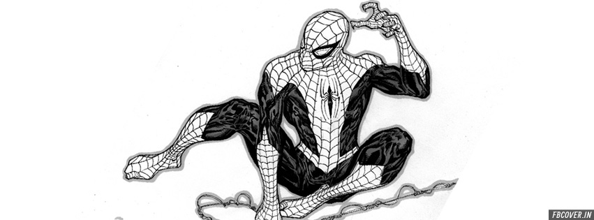 spider man sketch fb covers photos