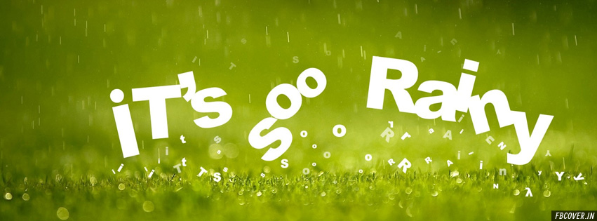 it's so rainy facebook covers photos