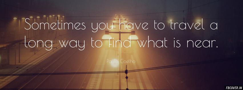 Paulo Coelho Quote best fb covers