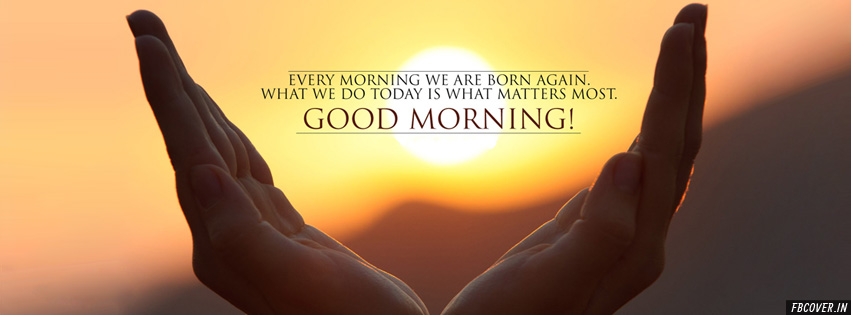 good morning best quote wishes facebook covers photos