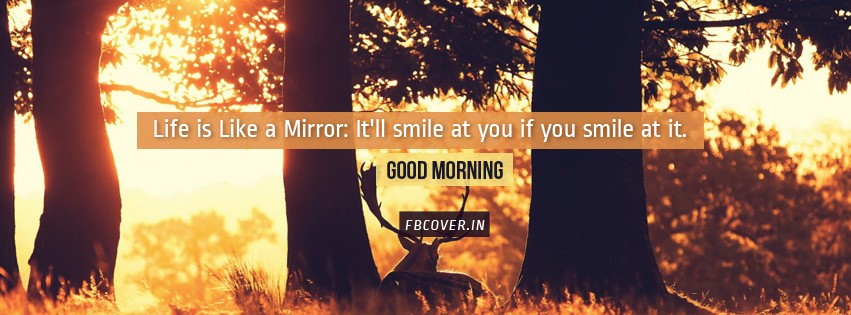 life is like a mirror quotes fb covers photos