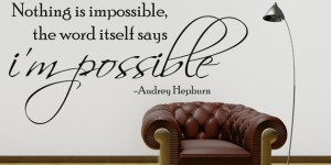 nothing is impossible audrey hepburn fb covers