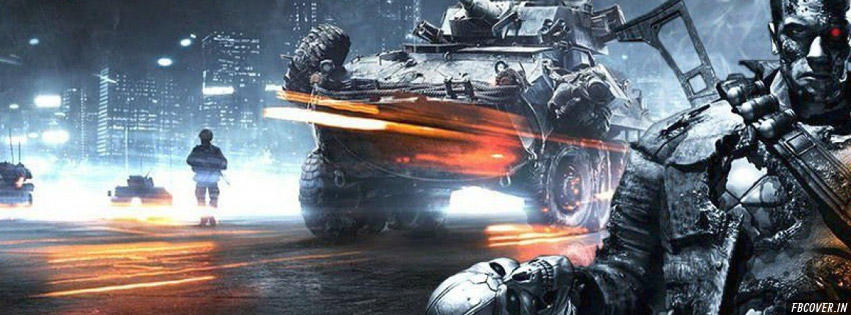 terminator genisys fight facebook covers