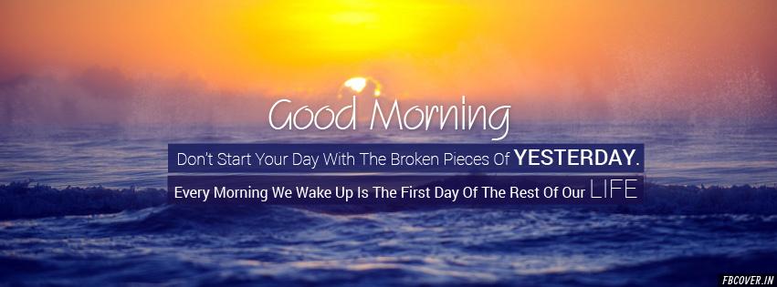Good Morning Inspirational Motivational fb covers photos