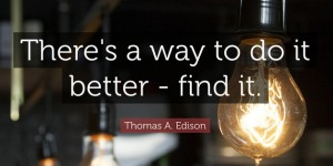 there's a way to do it better edison quotes facebook covers