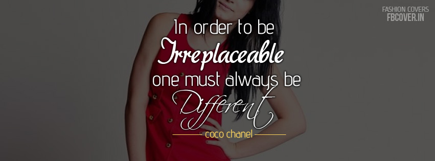 coco chanel quotes fb covers photos