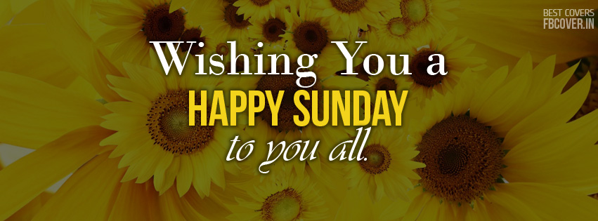 happy sunday fb covers