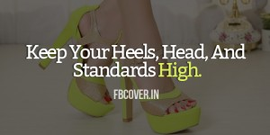 high heels quotes facebook covers