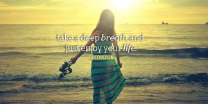 just breathe and relax quotes facebook covers