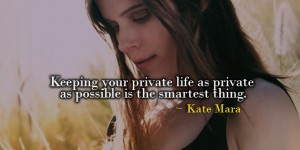 kate mara best quotes facebook covers