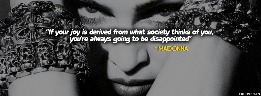 madonna quotes about life fb covers photos