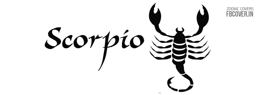 scorpio zodiac symbol fb covers