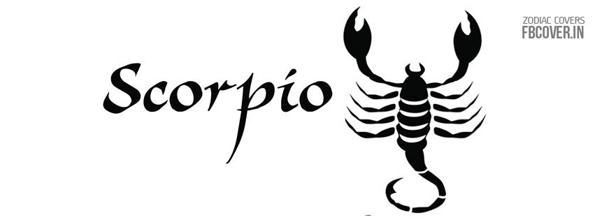 scorpio zodiac symbol fb covers