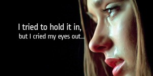 crying girl quotes fb covers