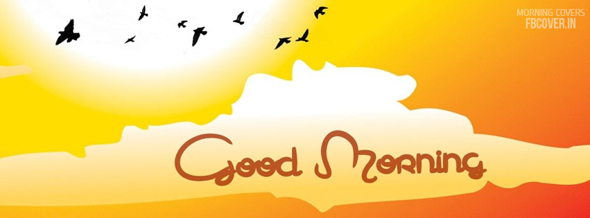 good morning birds fb cover