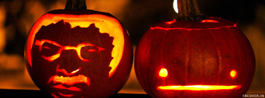 halloween lantern facebook covers