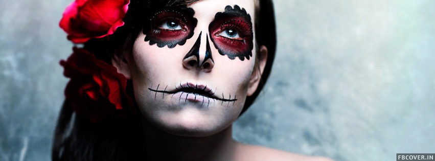 halloween makeup fb cover