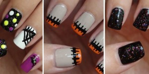 halloween nails facebook covers