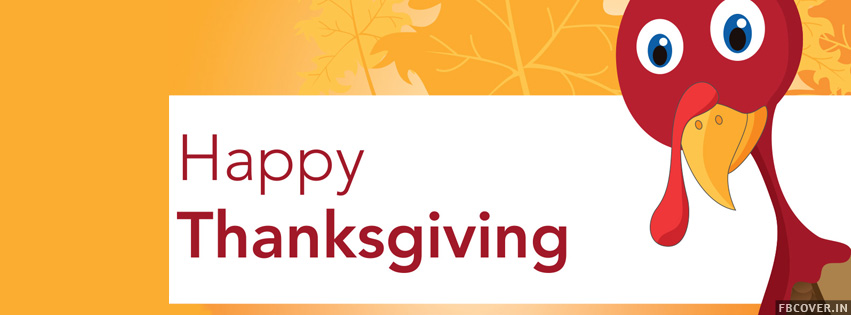 thanksgiving turkey facebook covers