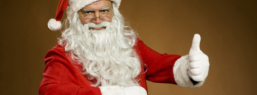 santa claus fb covers