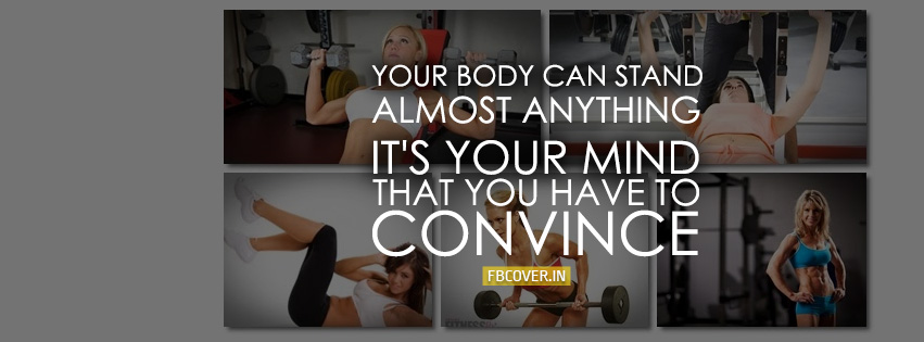 health fitness quotes fb covers