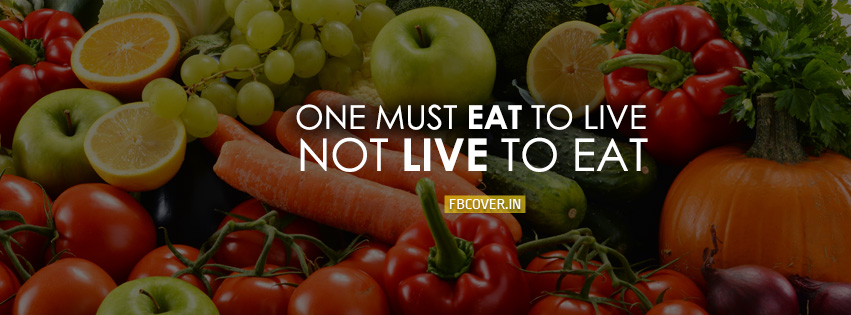 one must eat to live health fb covers