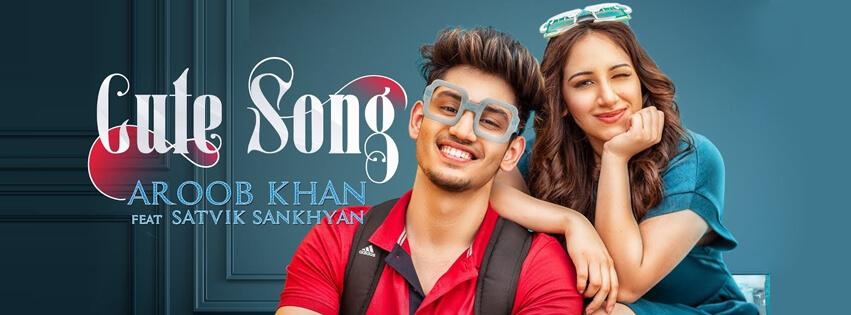 aroob khan cute song fb cover