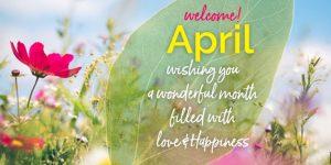 Hello April Quotes
